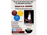 **NEW** Affordable drum lessons with Isaac K.A. in Ipswich!