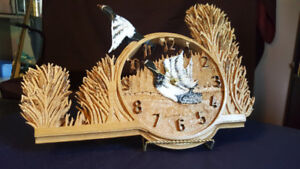 Ringed Neck Duck Clock