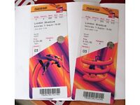 IAAF World Championship Tickets - Saturday Evening Session - 5th August