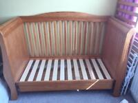 Babystyle Drop Side Cot Bed