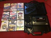 Sega Master System 2 Alex kidd 9 games phaser carry case
