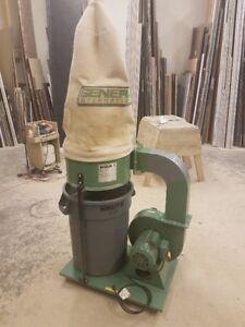 General International 2 HP Dust Collector