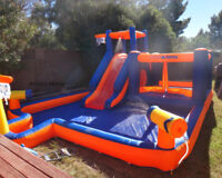 Dry & Water Bouncy Castles for Rent