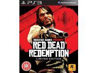 Rockstar red dead redemption PlayStation 3 game