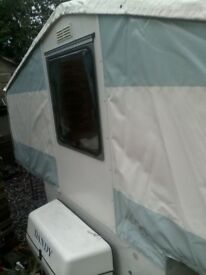 dandy trailer tent / folding camper with awning.5 berth. 1999/2000