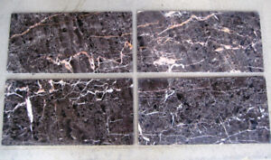 "1/2"" marble tiles"