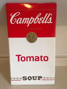 Vintage Tin Campbell's Condensed Tomato Soup Sign