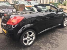 VAUXHALL TIGRA CONVERTIBLE 1.4 EXCLUSIVE 2 ROADSTER