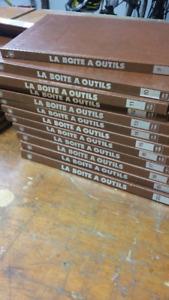 Livres 1 à 20 collection  (La Boite è outils)