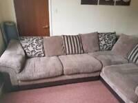 Delux corner sofa