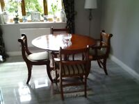 Dining room table and chairs BARGAIN PRICE