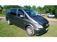 Mercedes-Benz Vito 2.1 113CDI Panel Van 5dr (EU5)£7,995 no VAT 5 Seater Dualiner , Air Con
