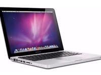 "Macbook Pro 2012 . 13"" - i5 - 4GB - 500GB HDD . Finacl cut , Logic Pro , Office ."