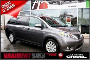 2017 Toyota Sienna LIMITED AWD, Protex & Repérage TAG incl
