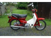 HONDA C90 Low mileage. MOT till end April 2018.