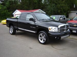 ***SOLD***2007 DODGE RAM LARAMIE***4X4***5.7 HEMI***LEATHER***