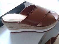 Ladies Size 5 Ralph Lauren Sandals