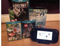 Wii U 32GB Games and Box