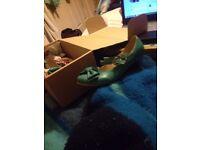 Teal Blue Lolita Shoes