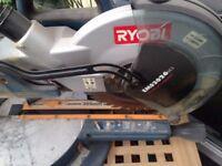 ryobi sliding chop saw