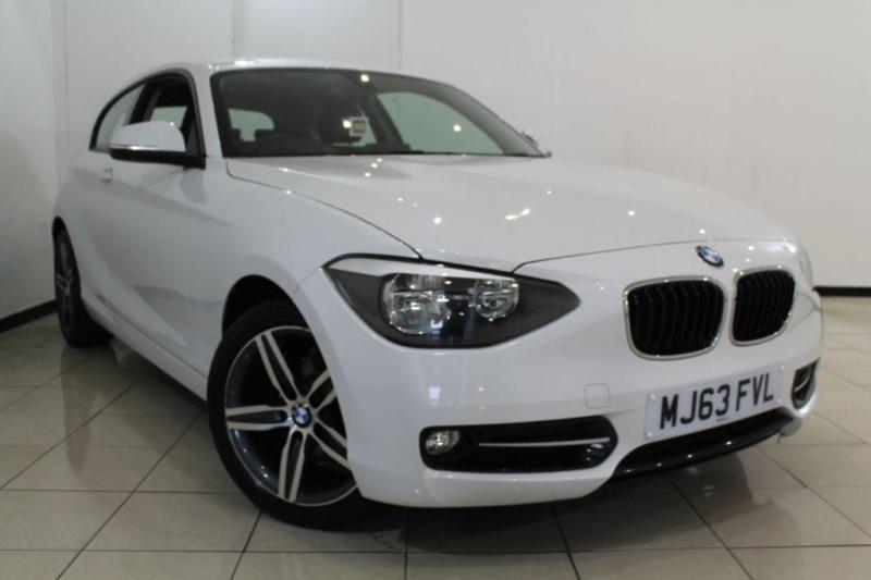 2013 63 BMW 1 SERIES 2.0 116D SPORT 3DR 114 BHP DIESEL