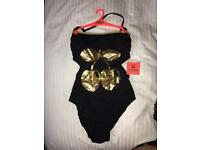 River island pascha swim suit size 12