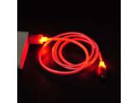 LED Light Micro Usb Data Sync Charger Cable