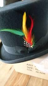 Unisex top hat size medium
