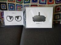 Oculus Rift CV1 and Touch Controllers New with receipt 12 months warranty