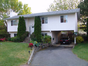 House for Rent in Gordon Head  and Walk to UVIC in 15 minutes