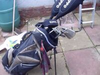 HIPPO GOLF CLUBS WITH BAG THE LOT £40