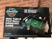 Brand new football drinking game