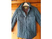 Boys quilted jacket age 8