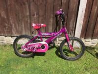 Girls infant bike