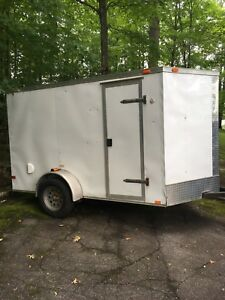 trailer enclosed