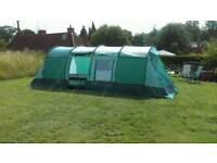 Tent, 8 person Gelert Meridian 8 family tent