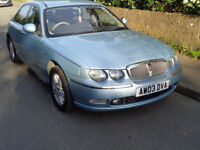 Rover 75 1.8 Turbo Blue New Mot