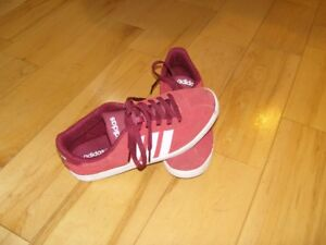 Adidas Red Suede Running Shoes / Sneakers