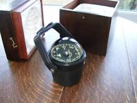 Simpson-Lawrence Boat Compass, lovely condition, in transit/presentation case, Folkestone, £65= OVNO