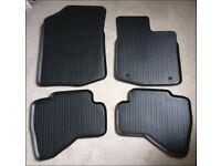 Toyota Aygo rubber mats (new)