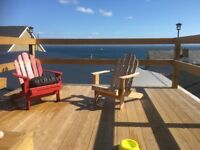 Holiday home apartment overlooking sea in Moville Donegal