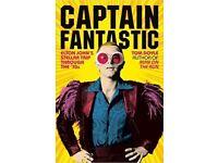 BRAND NEW: Captain Fantastic - Elton John's Stellar Trip Through the '70's (hardback) - RRP £16.99