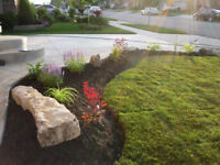 Mulch and Decorative Stone Installation Services