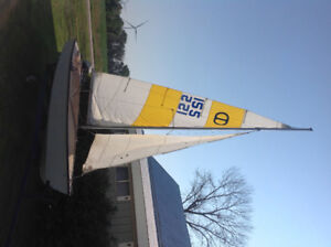 GREAT SAILBOAT PACKAGE READY TO GO!