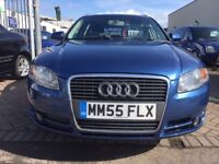 2005 55 AUDI A4 2.0 TDI ESTATE VERY VERY WELL MAINTAINED CAR WITH FULL HISTORY SUPERB EXAMPLE MINT!!