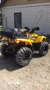 07 can am outlander 400ho