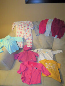 Girls size 3-6 month clothing lot $15
