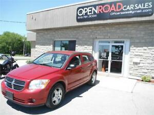 2007 Dodge Caliber SXT**ONE OWNER**LOW KMS**CERTIFIED**CLEAN