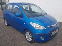 HYUNDAI I10 1.2 Comfort 5dr £30 YEAR TAX lONG MOT (blue) 2010