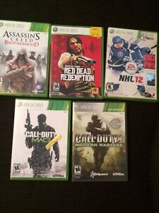 Xbox 360 game and headset